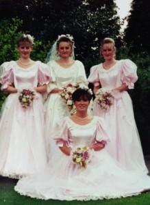 Michelle and bridesmaids