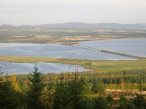 View over Dornoch Firth