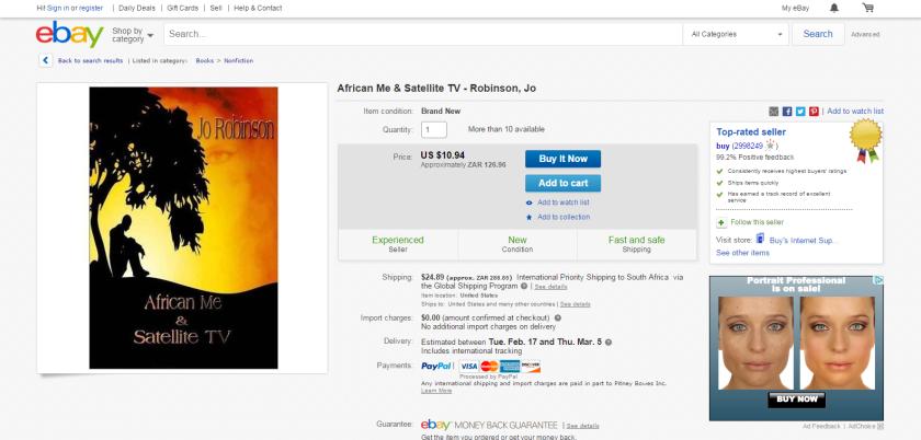 African Me Satellite TV Robinson Jo 1492719102   eBay.png1