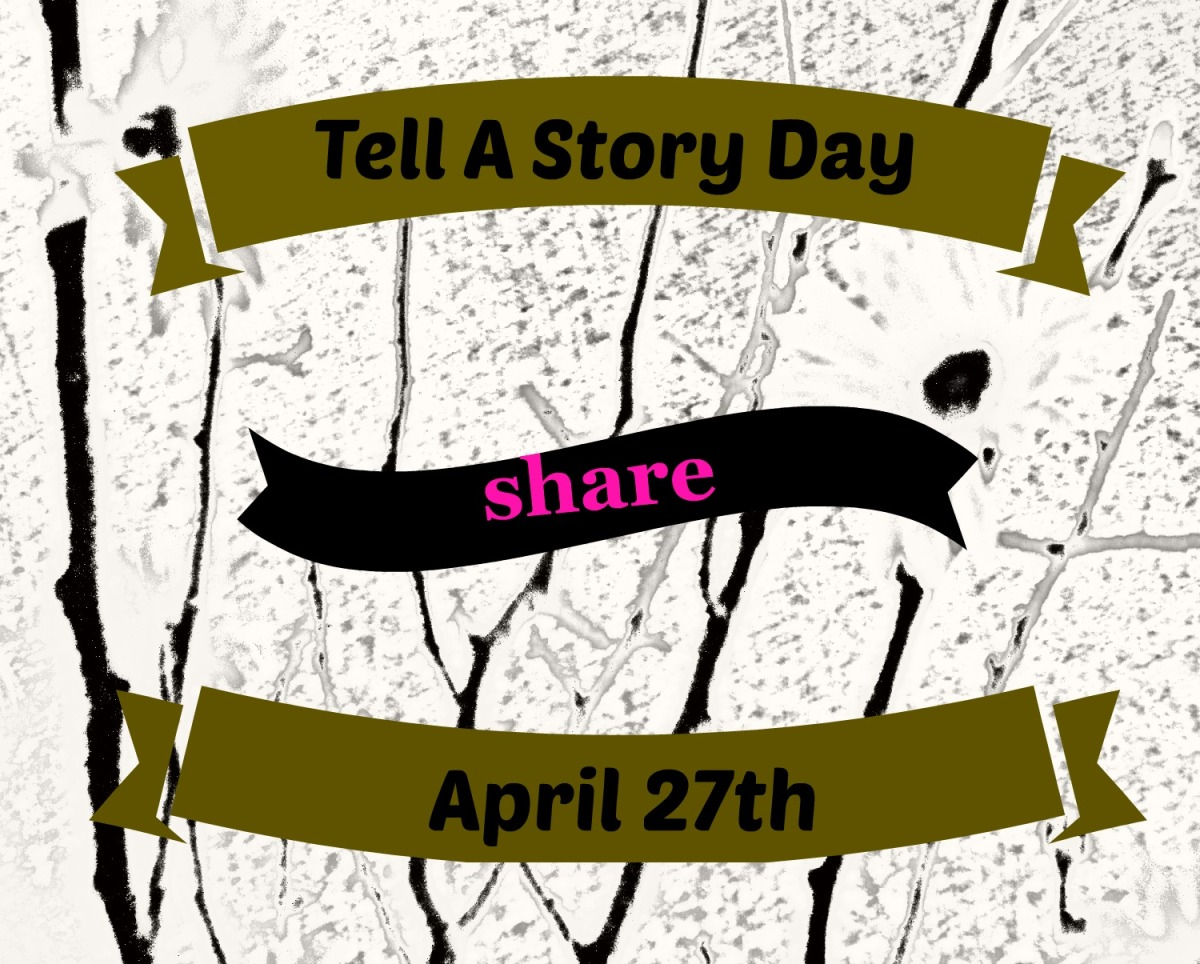 Tell A Story Day is Wednesday April27th